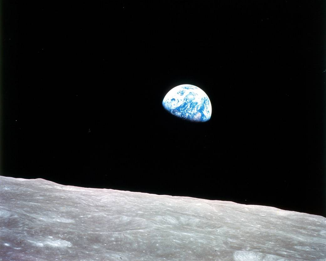 The greatest picture ever taken of the Moon and the Earth/NASA